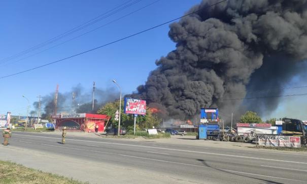 Пострадали шесть человек, из них двое – пожарные.