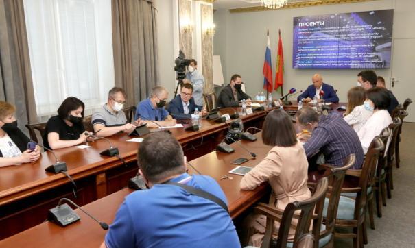 Губернатор сегодня подвел итоги работы делегации региона на ПМЭФ-2021