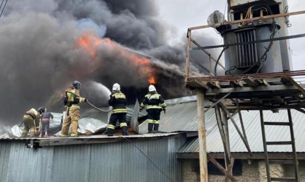пожар в Миассе