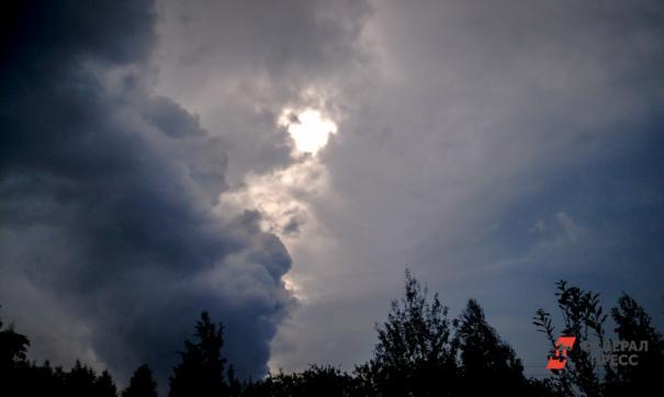 Ночью в Челябинской области ждут усиление ветра