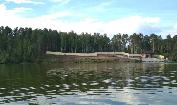Часть участка под строительство яхт-клуба находится в водоохранной зоне
