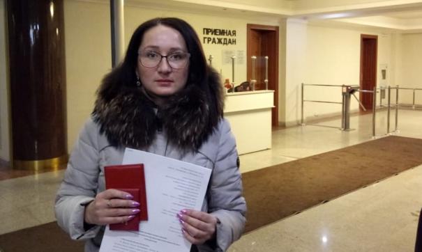 Член КПРФ известна на Среднем Урале эпатажным поведением и провокациями