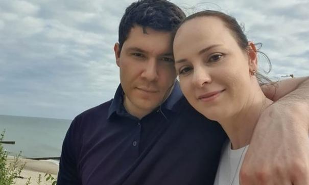 Алиханов с женой