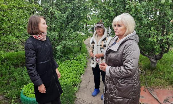 С жителями Лямбирского района встретилась председатель Российского союза сельской молодежи Юлия Оглоблина