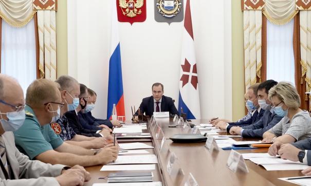 Мероприятие прошло в формате видеоконференции, его провел врио главы региона Артем Здунов