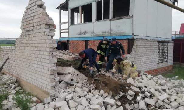 Ранее поступила информация, что под завалами могут находиться трое детей