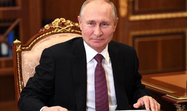Путин отметил работоспособность коллеги