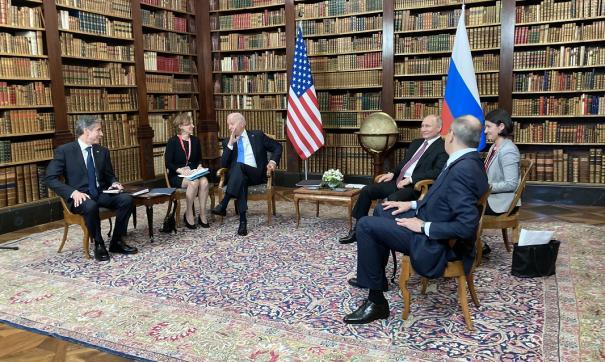 Главные тезисы с пресс-конференции Байдена по итогу саммита в Женеве
