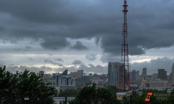Ураган в городе