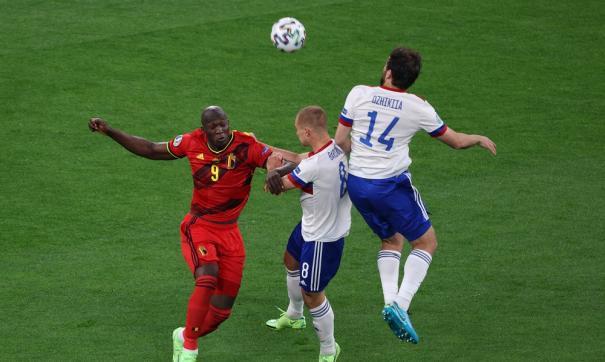 Матч Россия-Бельгия на ЕВРО-2020