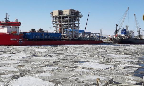 Работы в Арктической зоне
