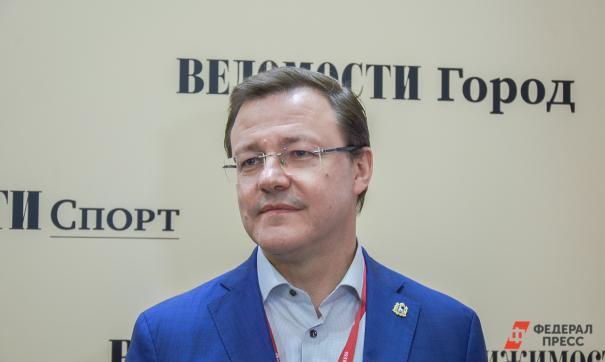 Губернатор Самарской области дал интервью о достижениях региона