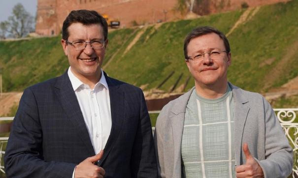 Глеб Никитин и Дмитрий Азаров