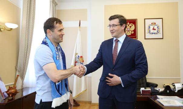 Александр Кержаков официально вступил в должность тренера