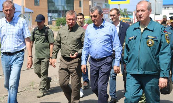 Левченко и Меняйло в Тулуне