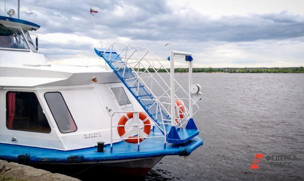 В Прикамье развитию водного транспорта уделяется большое внимание