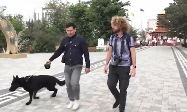 Кадры из ролика про Хасикова