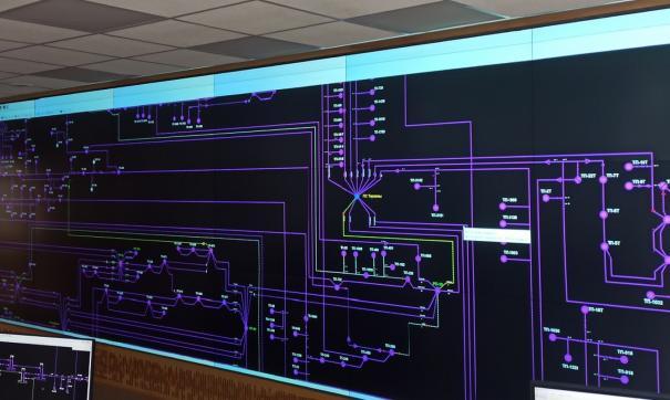 Система диспетчерского управления «СК-11»: видеостена