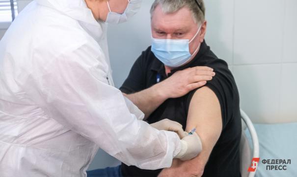 В Екатеринбурге во вдорах вакцинировано уже 2 тысячи человек