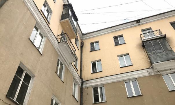 В Новокузнецке из-за ливня обрушился чердак многоквартирного дома