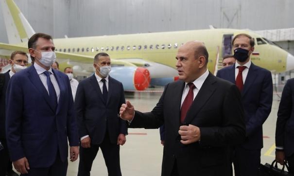 Глава кабмина планирует осмотреть цеха авиационного завода