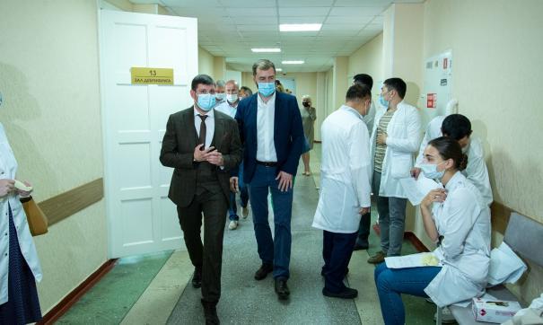 В университете открыт кабинет вакцинации для сотрудников и учащихся