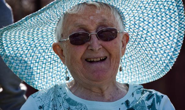 Пожилая дама