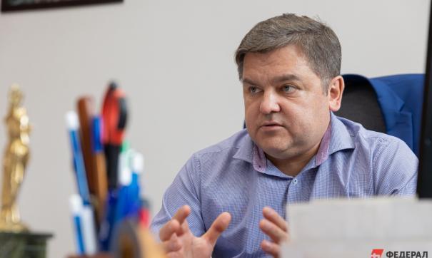Руководитель свердловского ЦУР Илья Захаров