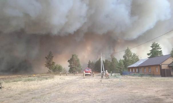Пожары в Челябинской области