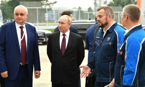 Большое внимание было привлечено к визиту Путина в Кузбасс