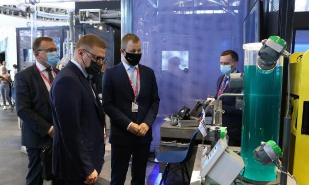 Челябинские предприятия представили на выставке свои лучшие разработки