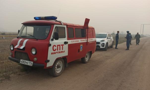 На сегодняшний день все природные пожары в южной части Челябинской области потушены