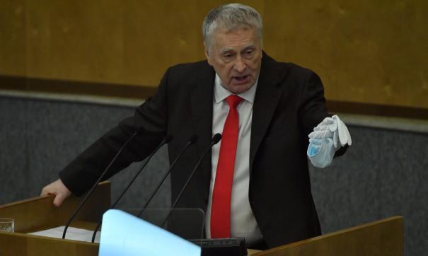 Жириновский призвал исключить Украину из ООН