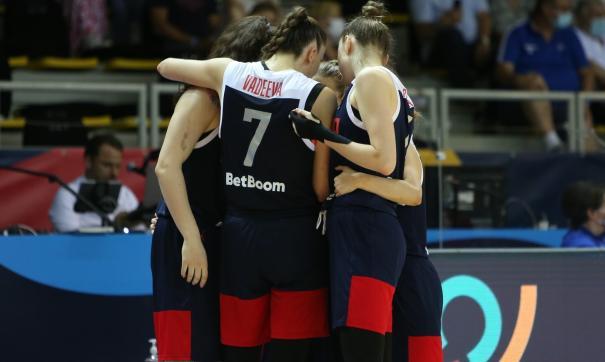 Женская сборная России по баскетболу завоевала серебро