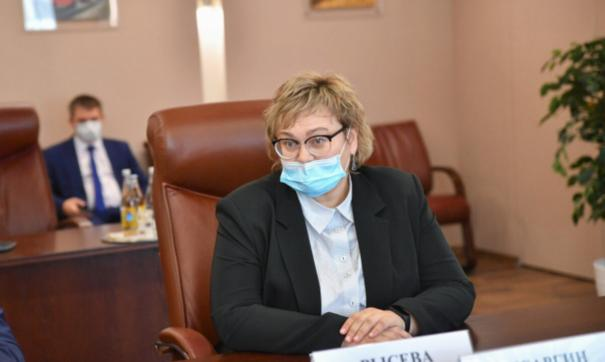 Рысева работает в ведомстве почти 20 лет