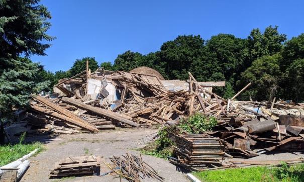 Власти региона обещали отреставрировать объект культурного наследия, однако его снесли