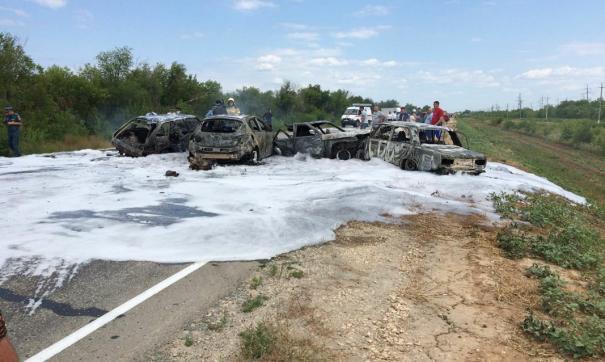 Авария произошла в Марксовском районе днем 27 июля