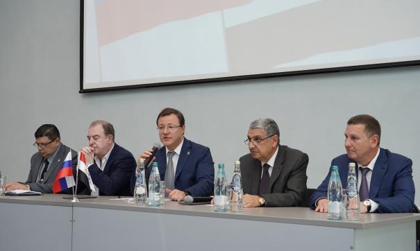 В мероприятии приняли участие российская и египетская сторона