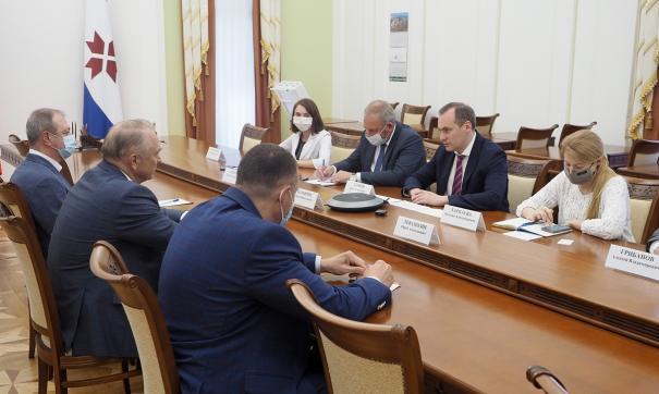 Врио главы республики встретился с президентом Торгово-промышленной палаты РФ Сергеем Катыриным