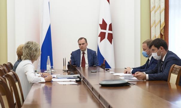 Врио главы Мордовии Артем Здунов провел совещание по вопросам обеспечения сирот собственным жильем