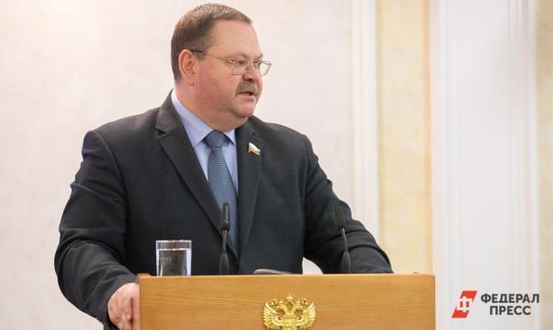 Врио губернатора региона Олег Мельниченко заявил о необходимости реорганизовать министерства
