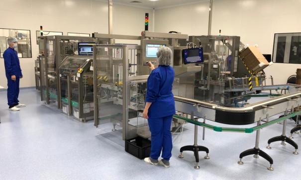 В Самарской области начали выпускать лекарство от COVID-19