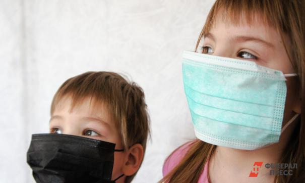 В основном ковид у детей протекает бессимптомно