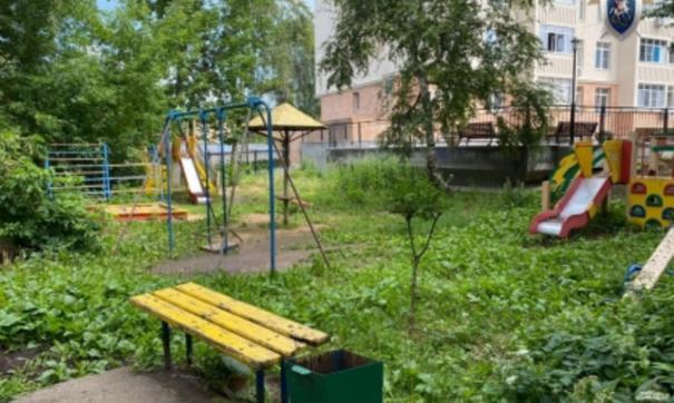 Место похищения ребенка