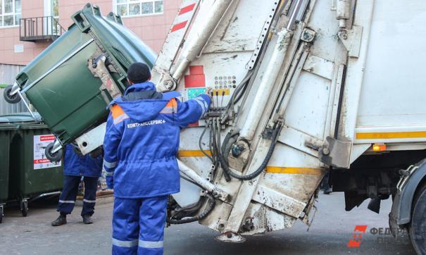 ДТП с мусоровозами
