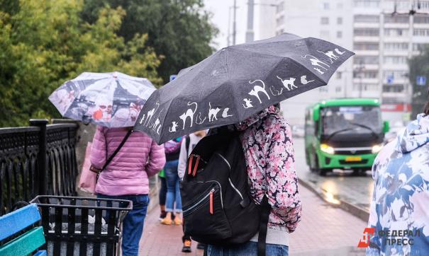 В Свердловской области ожидается ливень с грозой и ветром