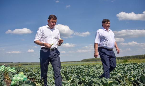 Евгений Куйвашев ввел режим ЧС по просьбе фермеров