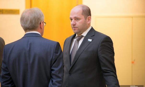 Илья Гаффнер баллотируется в заксобрание от «Единой России»