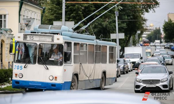 Энергетики отключили Октябрьское троллейбусное депо