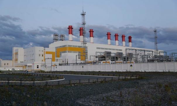 Электростанция работает на попутном нефтяном газе